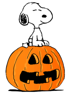 Snoopy and Pumpkin